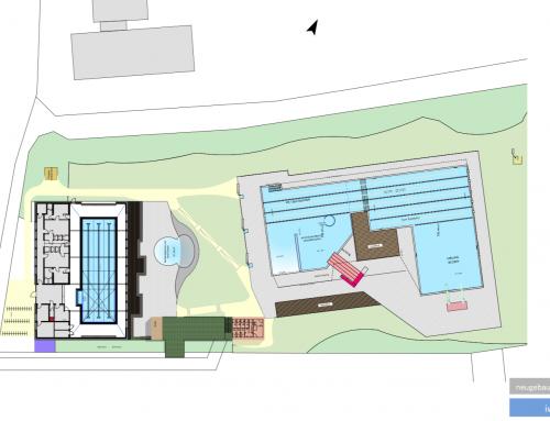 Gutachter: 7,4 Mio€ für komplette Hallen-/Freibadlösung