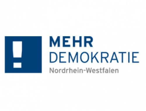 Mehr Demokratie e.V. NRW berichtet über das Dilemma mit der Kostenschätzung